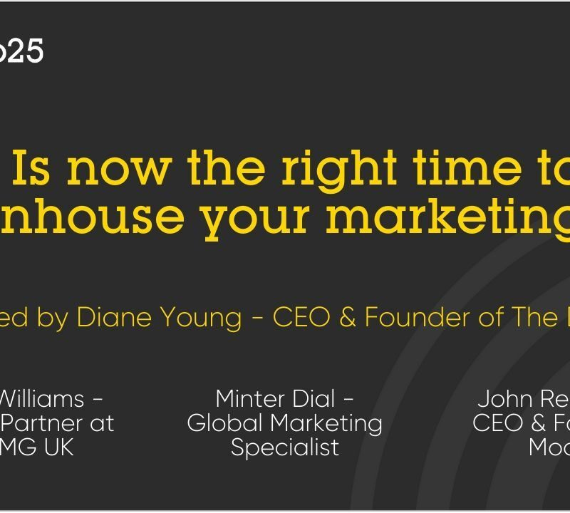 Is now the right time to inhouse your marketing?