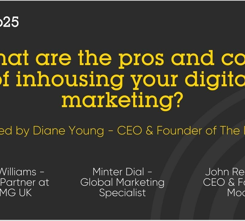 Pros and Cons of Inhousing your Digital Marketing Discussion
