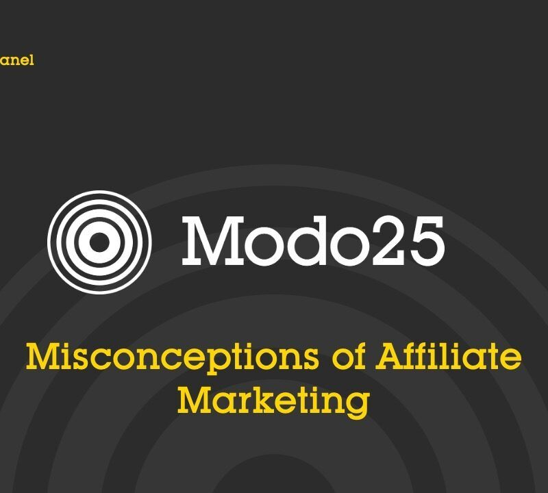 Misconceptions of Affiliate Marketing