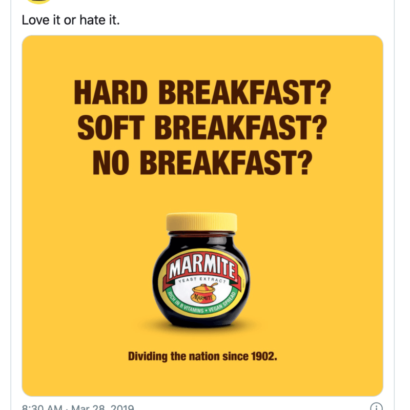 Marmite Brexit reactive content