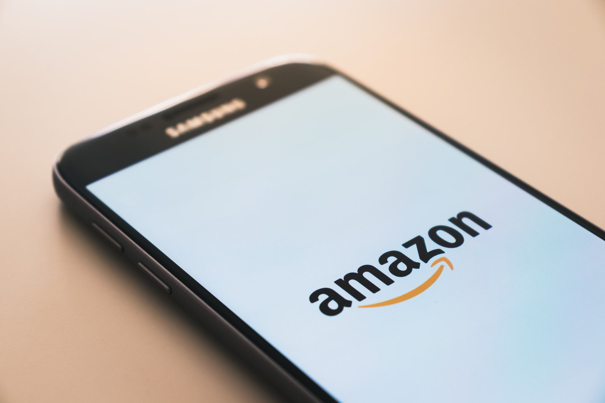 Amazon open on phone