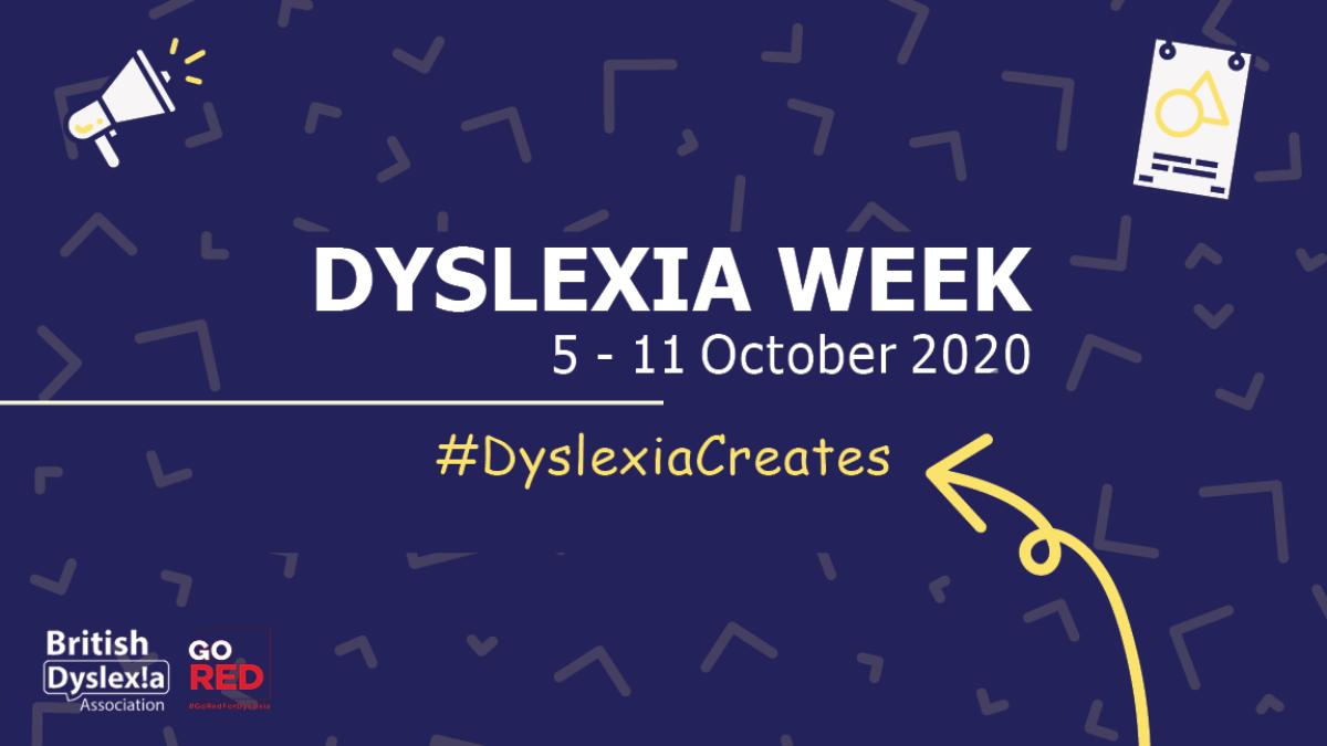 Dyslexia Awareness Week October 2020