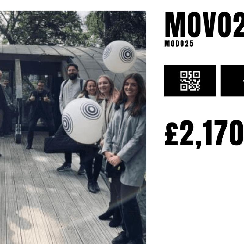 Modo25 completes movember fundraising