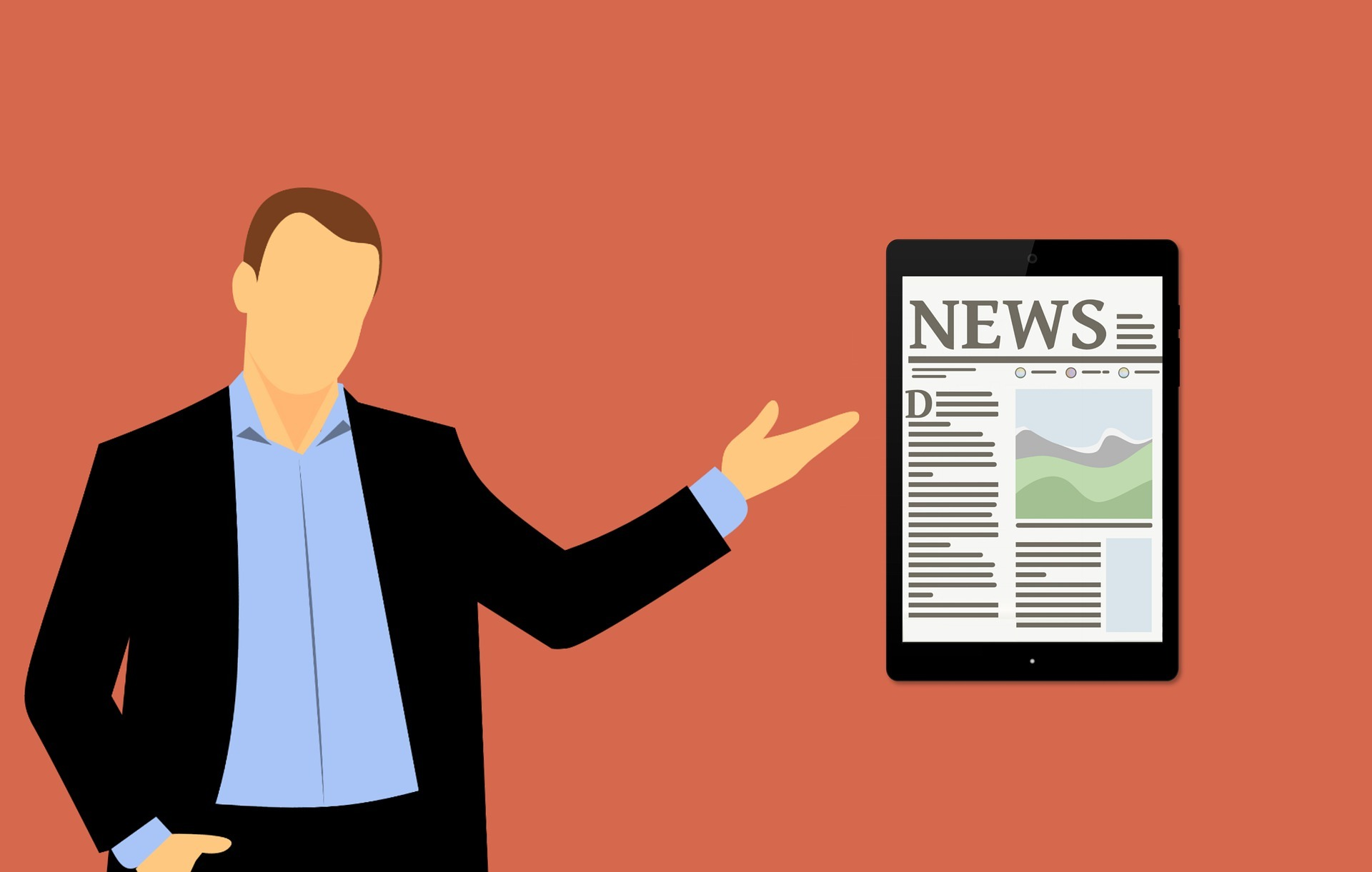 Using breaking news for content ideation