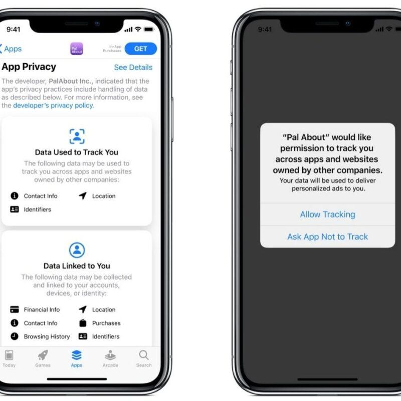 iOS14 data collection update