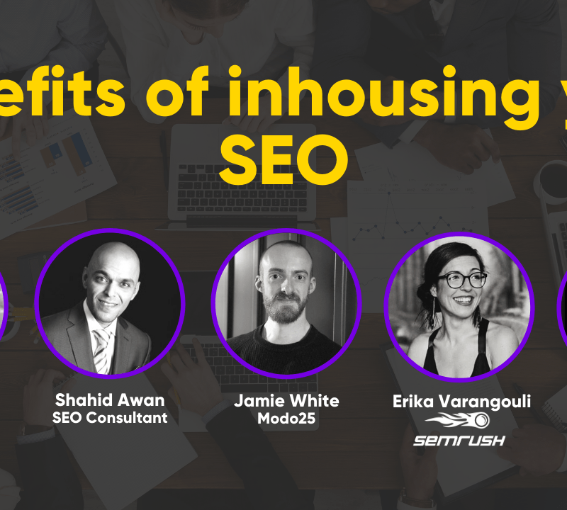 Webinar: Why is all of the best SEO done inhouse? - Modo25