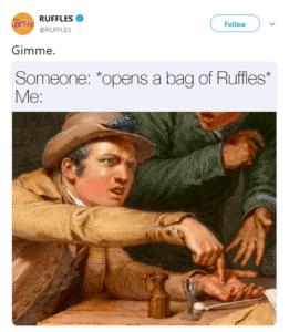 Ruffles marketing