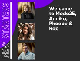 Modo25 New Recruits
